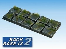 20mm Resin Scenic Bases (10) Square Paved Warhammer