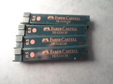 FABER CASTELL LOT DE 4 ETUIS MINES TK 9085 COLOR ROUGE 0,5 NEUF