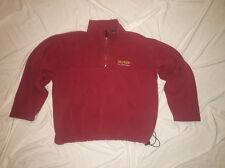 TOMMY HILFIGER Men's OUTDOOR PULL OVER SWEATER SIZE L RED