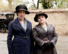 Downton Abbey UNSIGNED photograph - L6671 - Phyllis Logan and Lesley Nicol