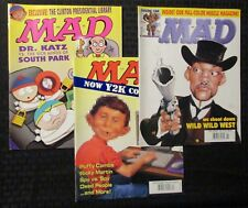 1998-1999 MAD Magazine LOT of 3 FVF/VF #375 384 388 South Park Parody