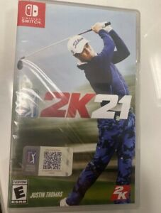 PGA Tour 2K21 (Nintendo Switch, 2020)...New Factory Sealed Fast Shipping