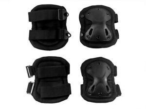 4pcs Knee Elbow Pads Set for SWAT Special Operations Tactical Training Exercises