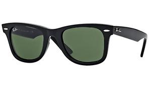 Ray-Ban WAYFARER Sunglasses RB 2140 901 50mm Black Frame