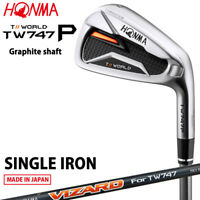 2019 HONMA GOLF JAPAN TOUR WORLD TW747 P IRON #4.11 or S(Single) VIZARD50 071811