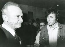 ASSI DAYAN YITZHAK RABIN OPERATION THUNDERBOLT 1974 VINTAGE PHOTO ORIGINAL #2