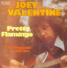 "7"" Joey Valentine/Pretty Flamingo (D) Cover Manfred Mann"