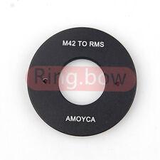 RMS Royal Microscopy Society to M42 Lens Adapter