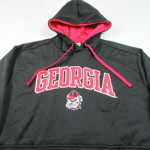 NWT Georgia Bulldogs Hoodie Sweatshirt Pullover NCAA College Champion LARGE