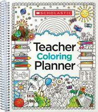 TEACHER COLORING PLANNER - SCHOLASTIC TEACHING RESOURCES (COR) - NEW PAPERBACK B