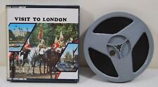 Visit to London - Standard 8 Cine Film - 1960's Travel Documentary Tourist Sites
