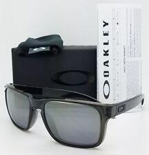 NEW Oakley Holbrook sunglasses Grey Smoke Black Iridium 9102-24 AUTHENTIC 9102