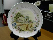 """Royal Albert Cottage Garden Year Series AUTUMN 8 3/8"""" Dia Plate with Box"""