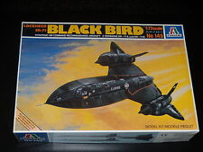MAQUETTE- LOCKHEED SR-71 BLACK BIRD - ITALERI - 1/72 - MODEL KIT - COMPLETE