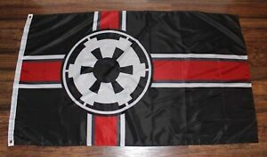 Star Wars Galactic Alliance Imperial Flag Banner Empire Strikes Back