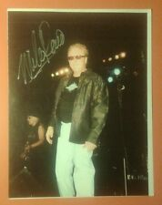 """Mike Reno""/ ""Loverboy"" signed photo & ""Matt Frenette"" & ""Spyder"" bonus photos!"