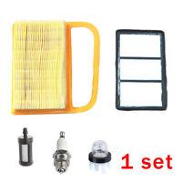 Air Filter Service Kit Fuel Filter Plug Primer Fits For  Stihl TS410 TS420