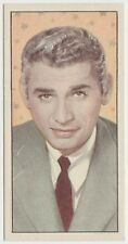 Jeff Chandler 1955 Barbers Tea Trading Card #18 - Cinema and Television Stars
