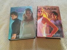 Gone: Lies 3 & Plague 4 by Michael Grant Hardcover With Dust Jackets
