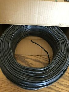 Vintage Box General Cable Corporation 12TW Solid Wire 2/64 black 500 feet (READ)