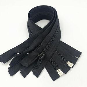 20-80 pcs 60-70cm(24-27.5 inch)  5# nylon coil Open-end zipper  (20 colors)@~~