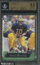 2000 Press Pass #37 Tom Brady New England Patriots RC Rookie BGS 9.5