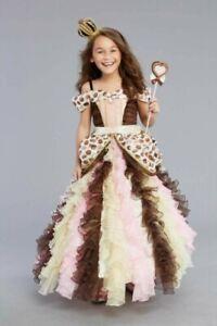 NIP ~ Chasing Fireflies Chocolate Princess Costume ~ Girls' Halloween Size 6 New