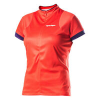 Troy Lee Designs Ace Bike Jersey Bright Coral Womens All Sizes