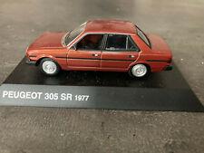PEUGEOT 305 SR 1977 NOREV 1/43   C10