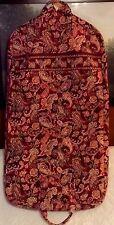 NEW Vera Bradley Garment Bag in Piccadilly Plum Beautiful Retired Pattern HTF