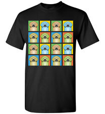 Puggle Cartoon Pop-Art T-Shirt Tee - Men Women's Youth Tank Short Long Sleeve