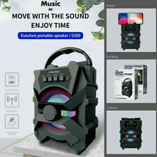 Wireless Portable Party Bluetooth Speaker Heavy Bass Sound FM Support TF