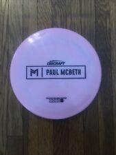 Discraft Prototype (Malta) Paul McBeth. Used, 9/10, has ink.