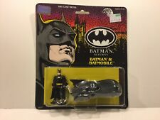 Vintage Batman Returns Movie BATMAN & BATMOBILE ERTL 1992 Die-Cast Vehicle MOC