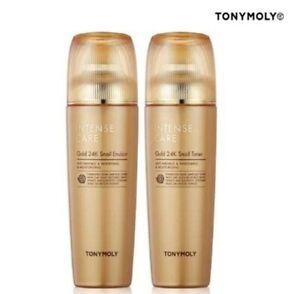 [TONYMOLY] Intense Care Gold 24K Snail (Emulsion / Toner / Serum) ... SALE