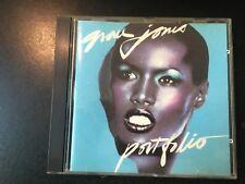 Grace Jones - Portfolio - Dance R&B CD Island (Early Press)  # 90038-2
