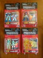 4 Heroes of Cybertron Transformers Action Figures Generation One Hasbro