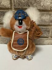 "Vintage Chicago Cubs Koala Plush Stuffed 8"" Toy Baseball - Rare!"