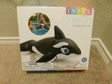 Brand new in box Intex Whale pool ride-on