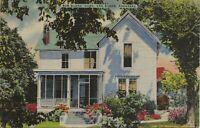 Arkansas Van Buren Bob Burns Home Grandpa Snazzy Vintage Collectible Postcard