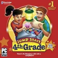 Jumpstart 4th Grade   Math Geography Grammar Science  Varied Learning Styles NEW