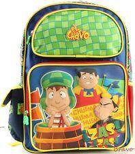 "El Chavo 16"" backpack with water bottle holder pockets"