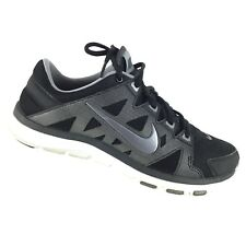 20019366f3b8 Nike Flex Supreme TR 2 Women s 8 Cross Trainer Running Black Silver Shoes  R9S3