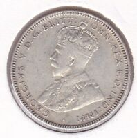 CB1433) Australia 1933 Shilling, good fine with some remaining lustre