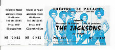 RARE / TICKET BILLET CONCERT - THE JACKSONS MICHAEL JACKSON : LIVE A PARIS 1979