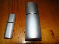 Silver Manicure & Pedicure Tool Set & Matching Perfume Spray
