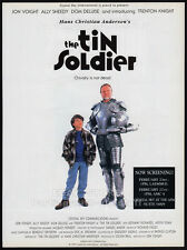 THE TIN SOLDIER__Original 1995 Trade Print AD / poster__JON VOIGHT__ALLY SHEEDY