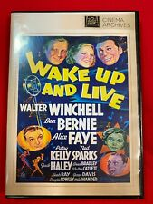 """Wake Up And Live"" 1937 (Dvd 2013) Walter Winchell Ben Bernie Free Shipping"
