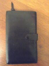 Bottega Veneta Womans Black Leather Bi Fold Exterior Zipper Wallet Serial # Nice
