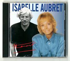 RARE CD ★ ISABELLE AUBRET CHANTE FERRAT - DISQUES MEYS ★ 16 TITRES ALBUM 1995